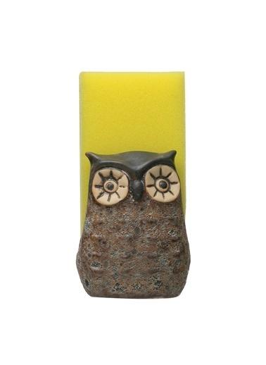 Warm Design Baykuş Süngerlik Kahve